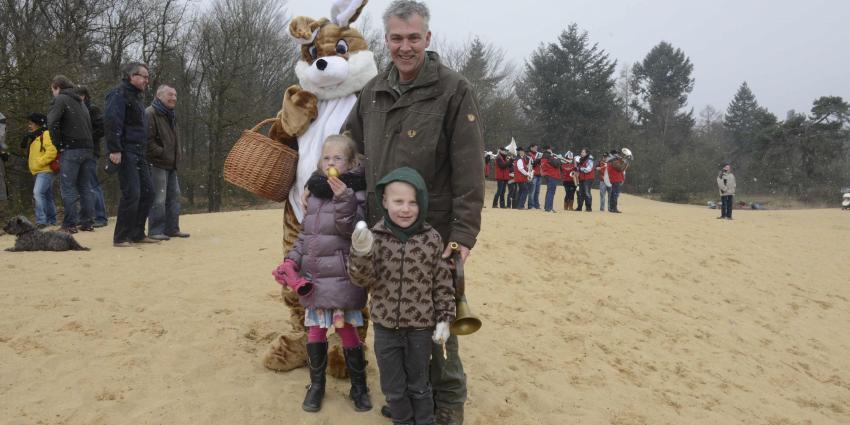 Eieren zoeken in Park de Hoge Veluwe