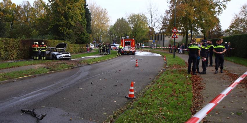 Politie spreekt met slachtoffer ontplofte auto Veghel