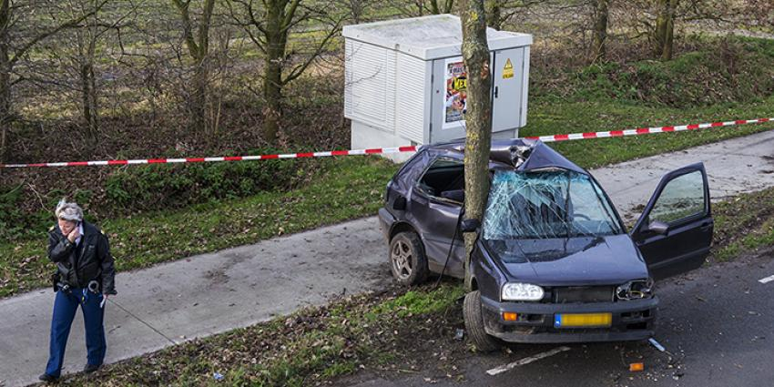 Foto van aanrijding Cromfoirt | Persburo Sander van Gils | www.persburausandervangils.nl