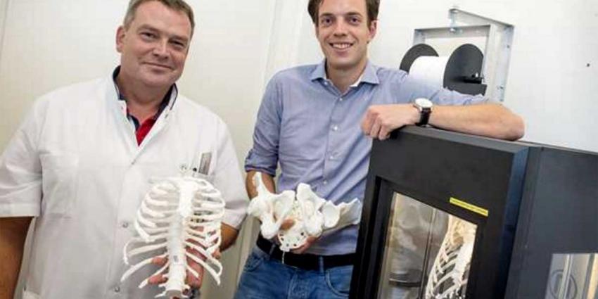 3D-printer helpt traumachirurgen complexe botbreuken beter te opereren