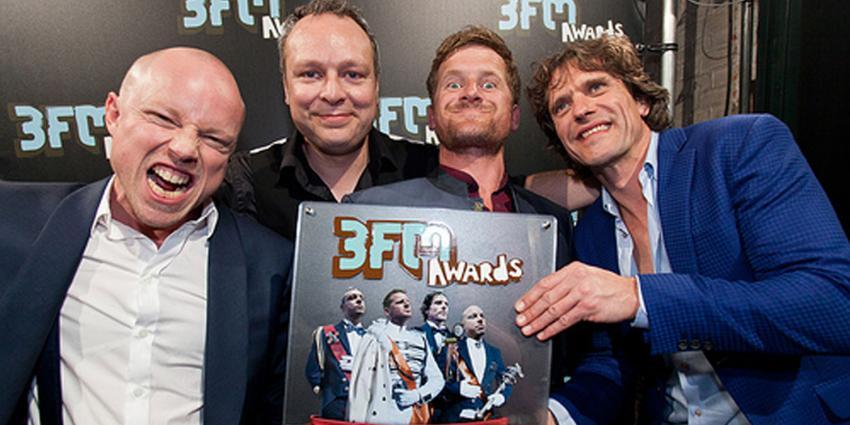 foto van racoon wint 3FM Award | 3FM