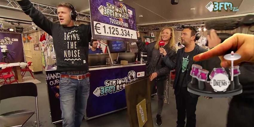 Teller Serious Request Haarlem na 24 uur al op ruim 1 miljoen euro