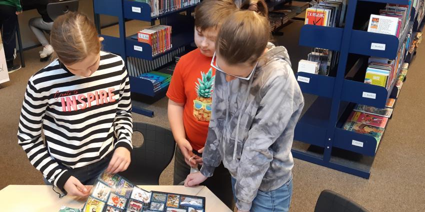 Samenwerking Dollard College Woldendorp en bibliotheek