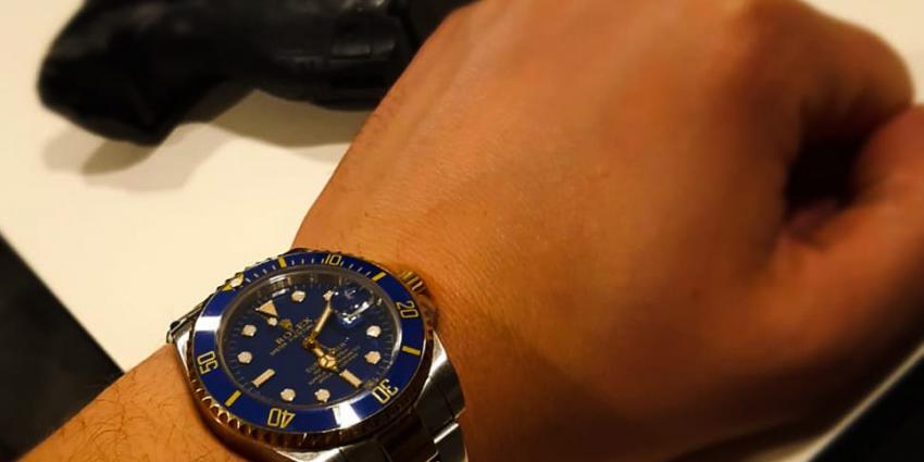Verdachten aangehouden na stelen lok-horloge