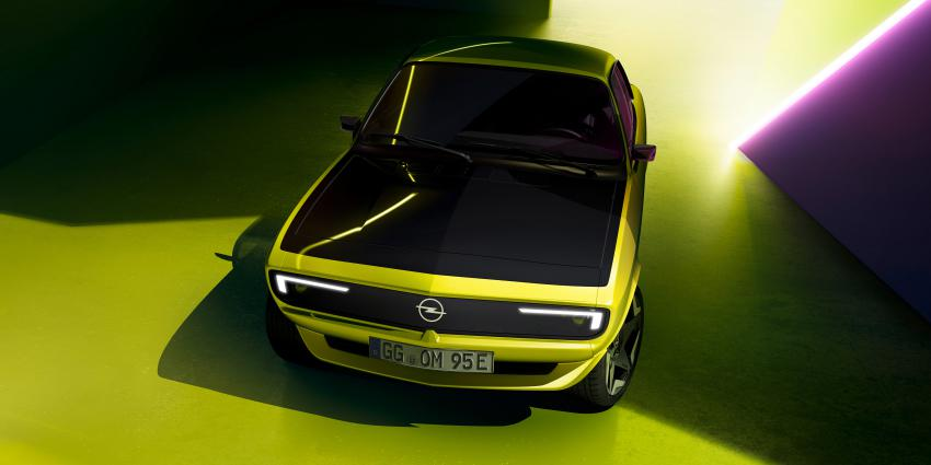 De nieuwe Opel Manta
