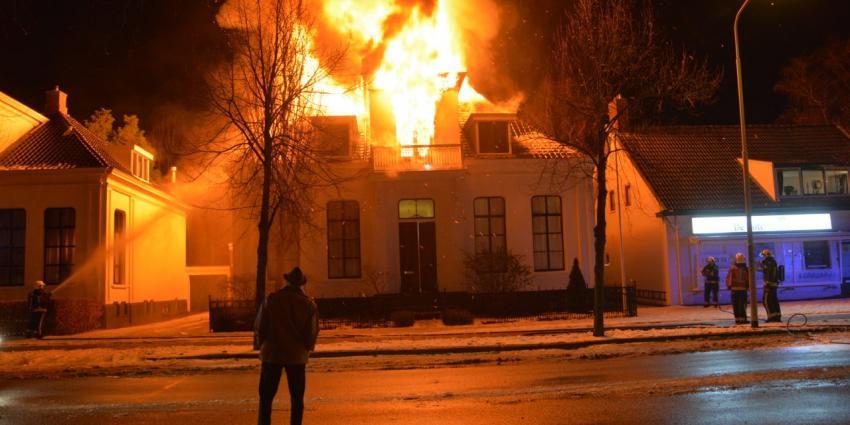 Uitslaande brand in Sappemeer