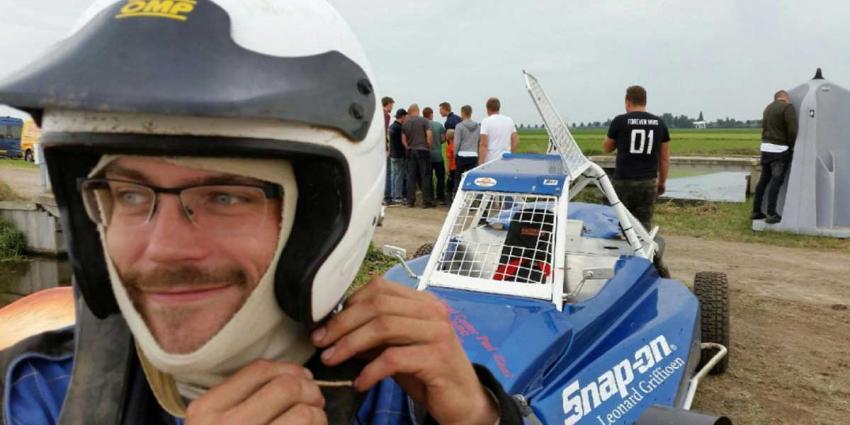 Dennis Zaal snelste 1e manche Sprint Zevenhoven On Wheels 2016