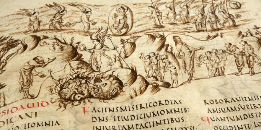 Utrechts Psalter op UNESCO-lijst geplaatst