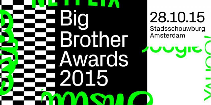 Minister Plasterk en Nationale Politie winnen Big Brother Awards '15