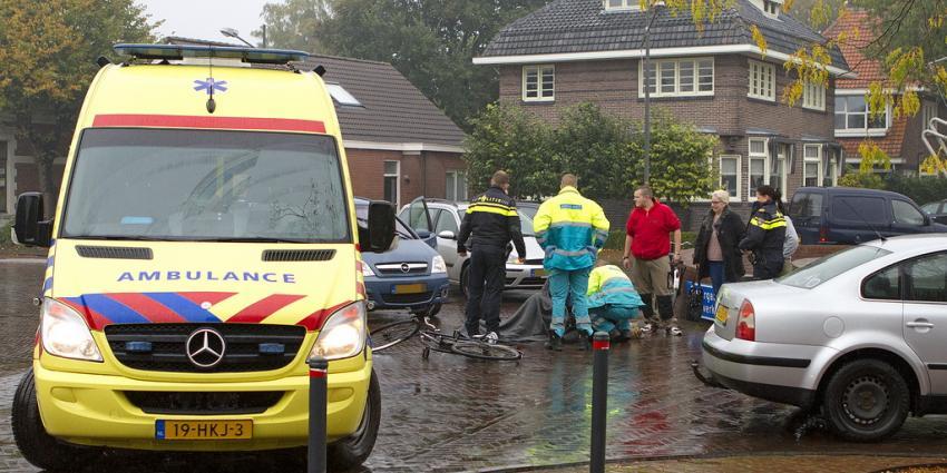 Fietsster gewond bij aanrijding in Veendam