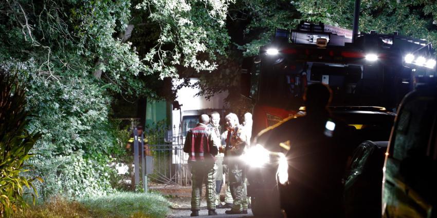 Politie en brandweer onderzoeken drugslab