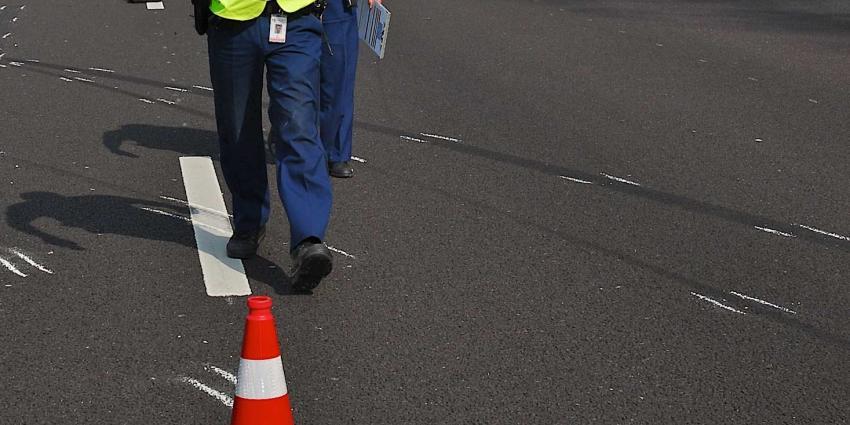 A27 dicht naar Breda na ernstig ongeluk
