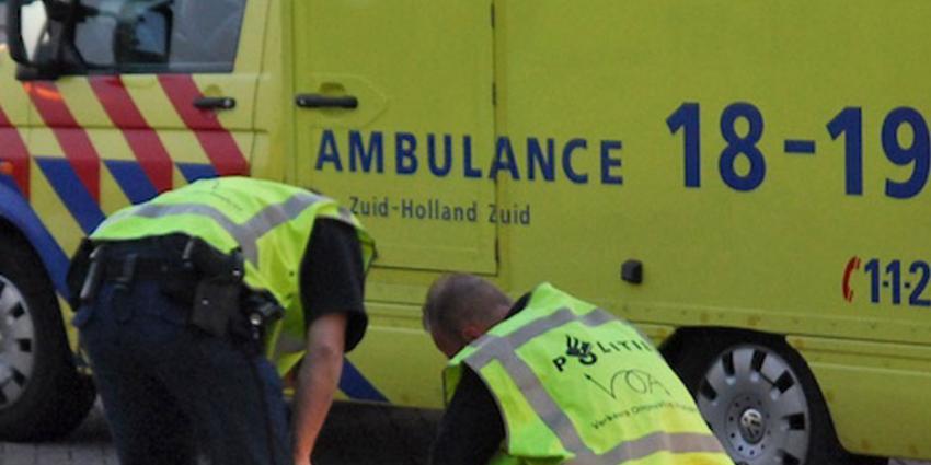 Man zwaargewond aangetroffen op A16