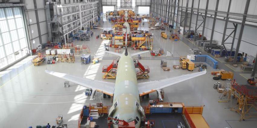 Productiehal A320