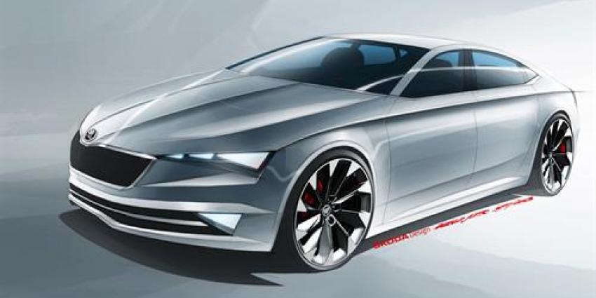 Škoda presenteert vijfdeurs coupédesign