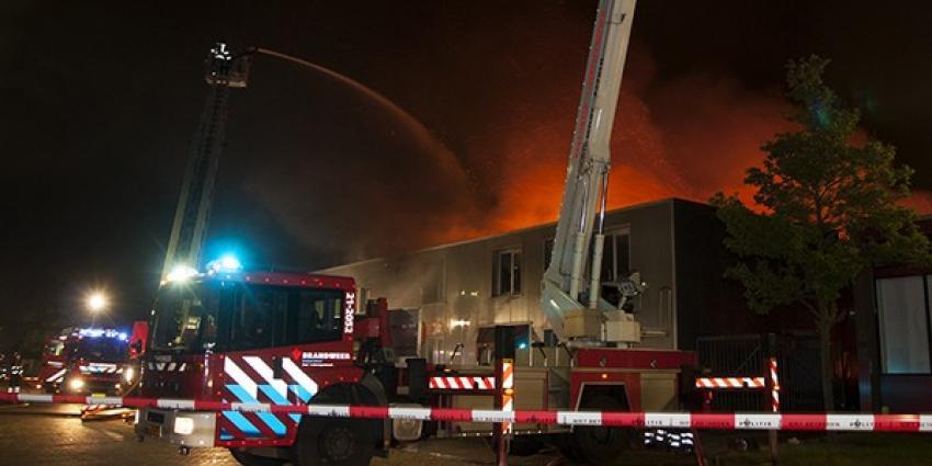 Grote brand in Den Bosch | Persburo Sander van Gils | www.persburausandervangils.nl