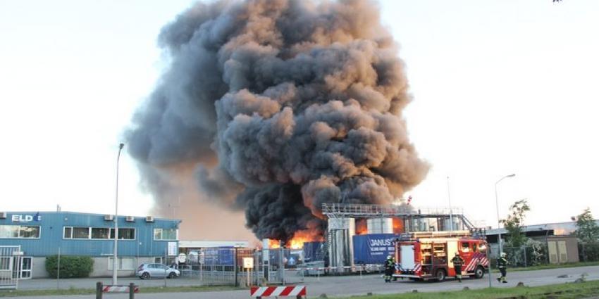 Foto van brand Oosterhout   Mathijs Bertens