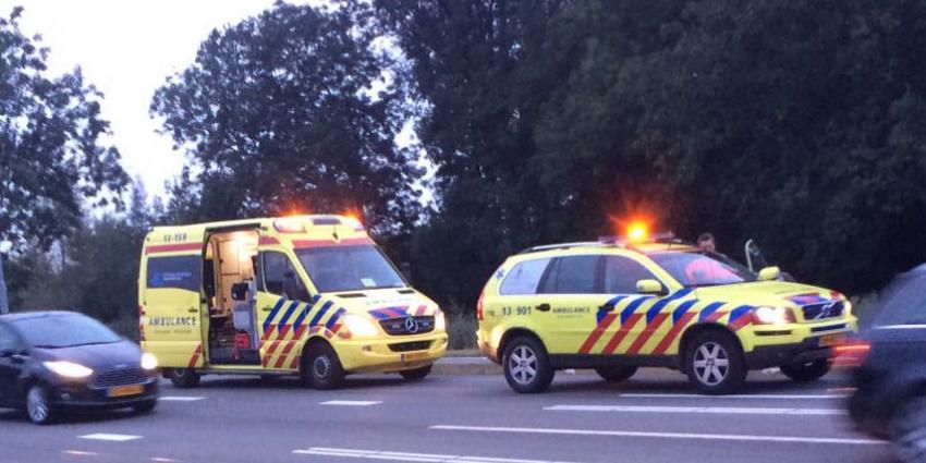 Meisje ernstig gewond na aanrijding N196 De Kwakel