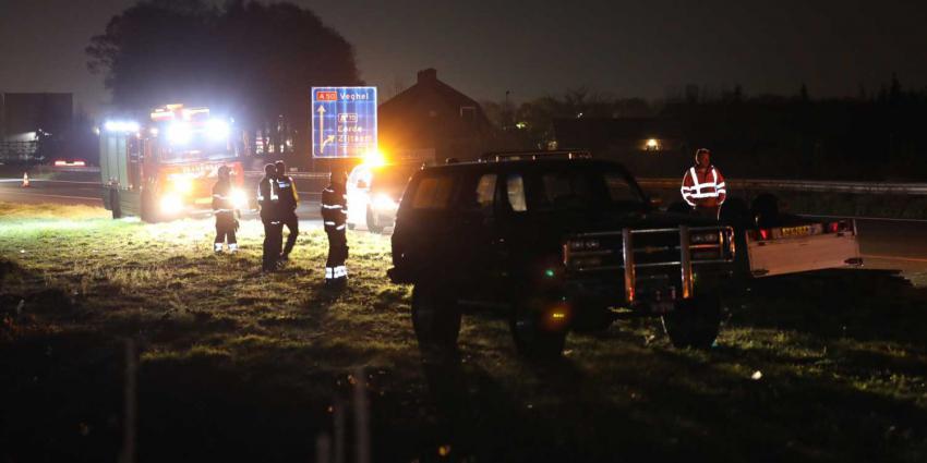 aanhanger-snelweg-ongeval