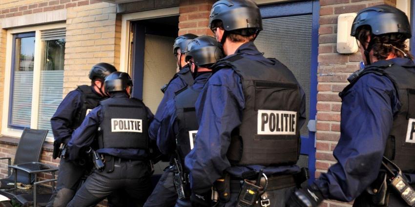 Politie doet invallen bij onderzoek naar georganiseerde criminaliteit