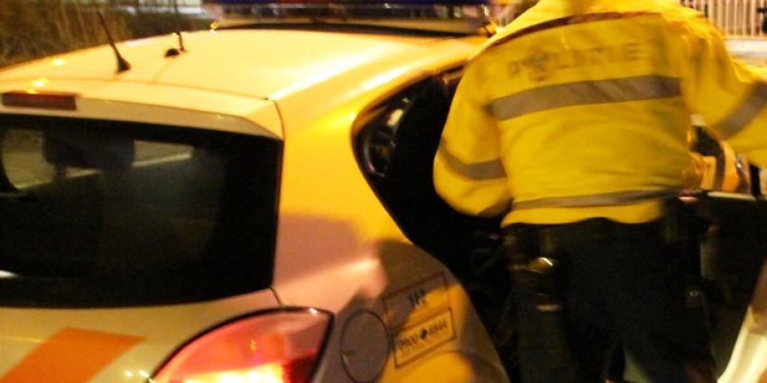Agent breekt been bij aanhouding Rotterdam