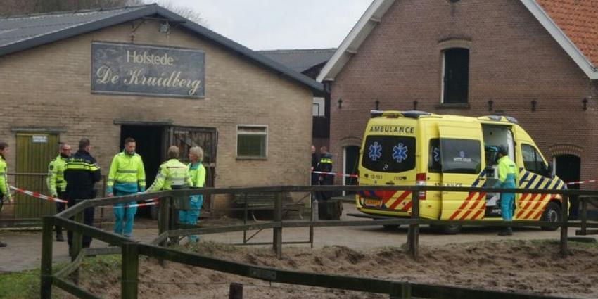 Politie houdt in Driehuis gevluchte man aan na schot in been