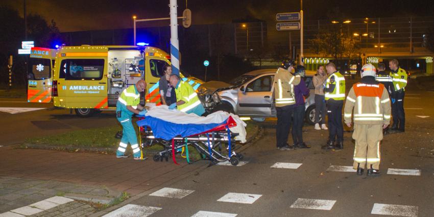 Zes mensen gewond bij aanrijding in Vlaardingen