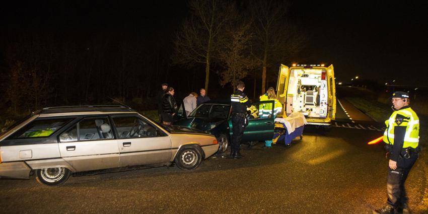 Auto's botsen op gemeentegrens Sint-Michielsgestel-Schijndel