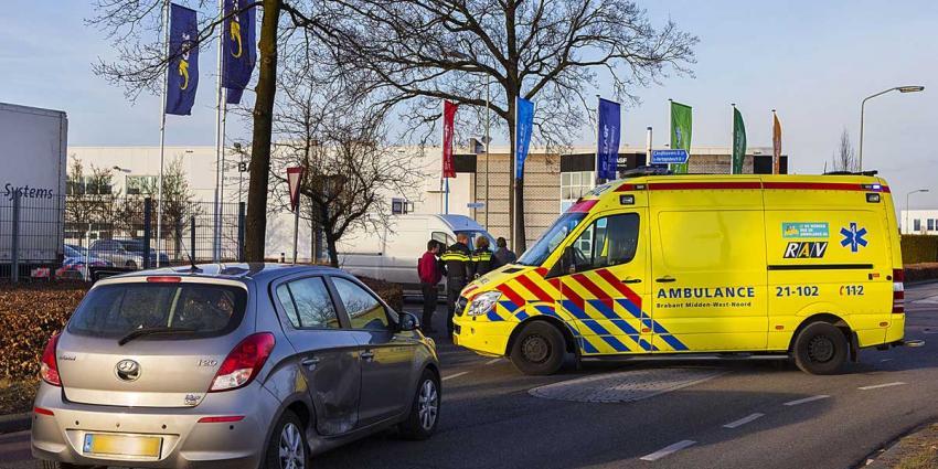 Gewonde bij botsing op kruispunt industrieterrein Ladonk in Boxtel