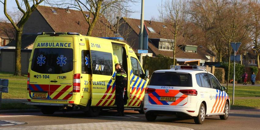 Fietsster en automobilist botsen in Boxtel