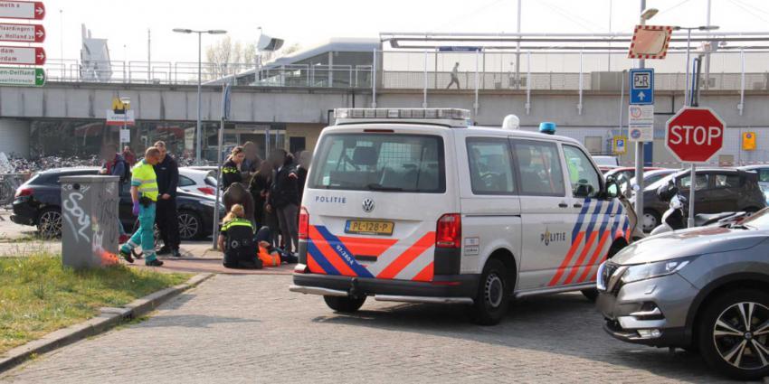 aanrijding-politieauto