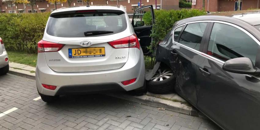 Aanrijding na onwelwording in Schiedam