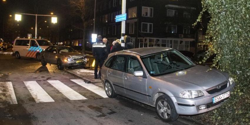 Bestuurder aangehouden na aanrijding in Schiedam
