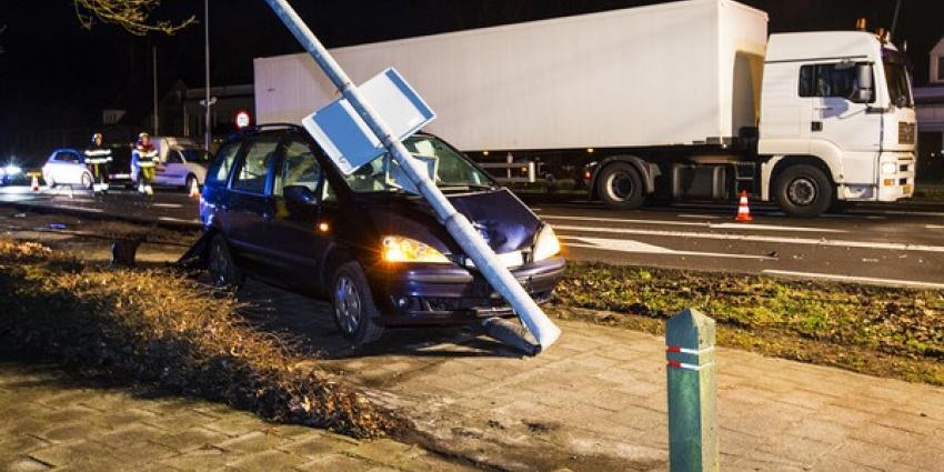 Flinke ravage bij ongeval op N65 bij Vught