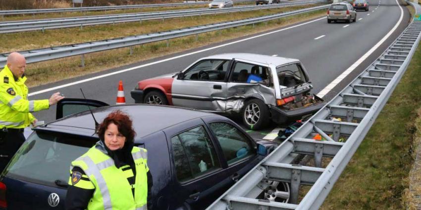 Ongeval N33 Bareveld Gieten-Veendam