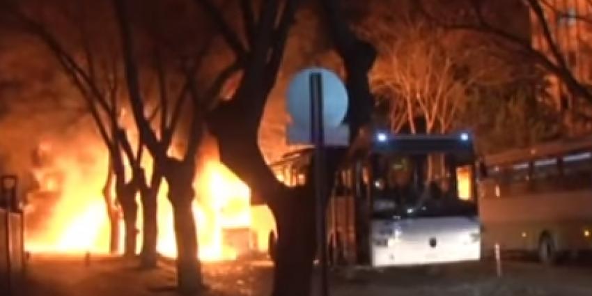 Turkse premier Davutoglu: Koerden achter aanslag Ankara