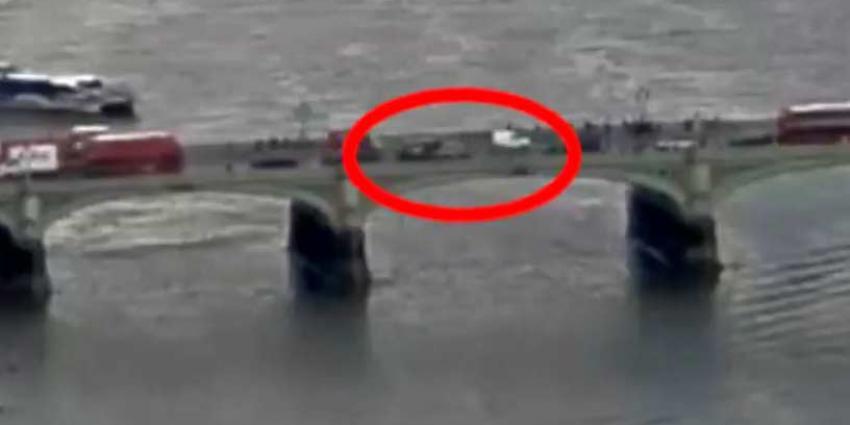 Schokkende beelden van aanslag in Londen