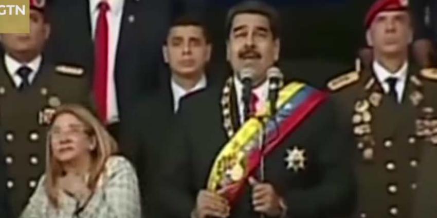 Mislukte aanslag op Venezolaanse president