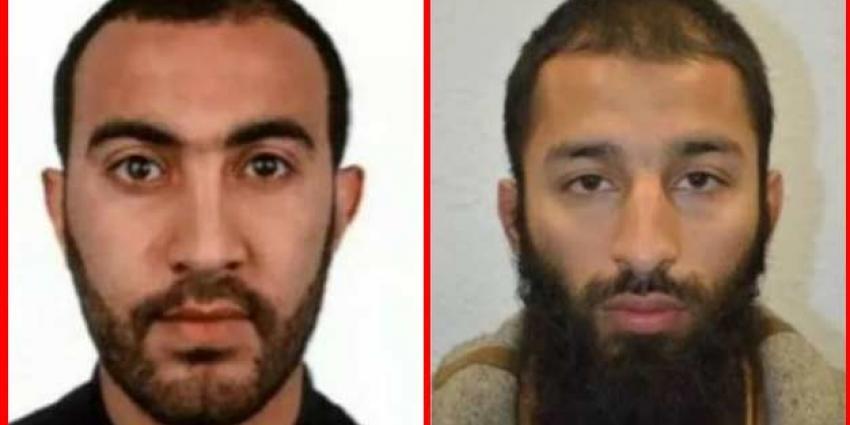 Politie Londen toont twee van de drie terroristen