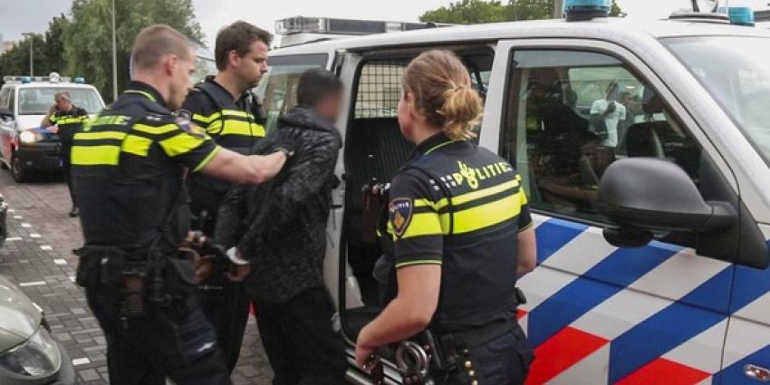 Man aangehouden na politieachtervolging