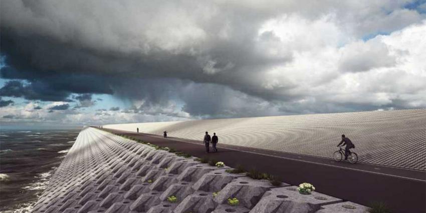 Afsluitdijk krijgt nieuwe loodzware 'jas' van stenen
