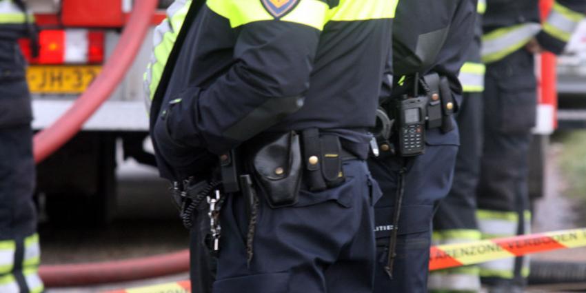 Weer zwaarbewapende agenten bij stadhuis Haarlem