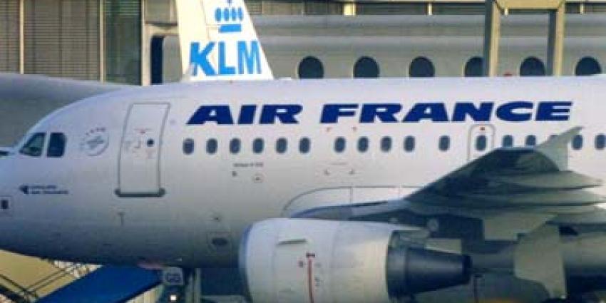 'Groei aantal passagiers Air France-KLM'
