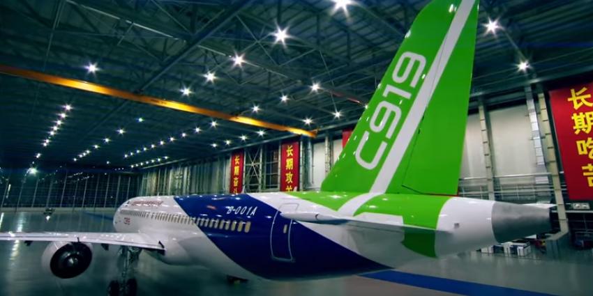 China bouwt eigen passagiersvliegtuig