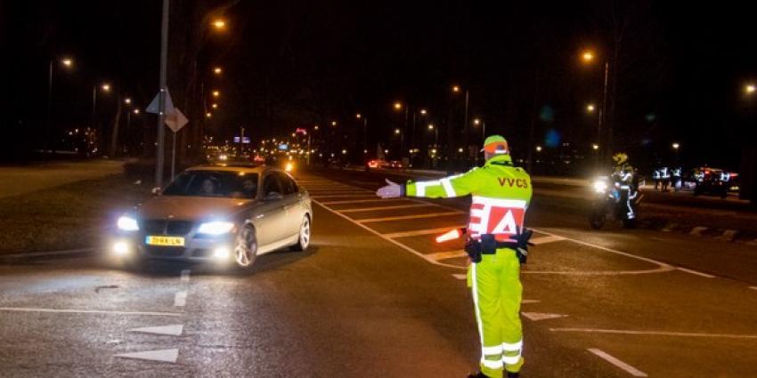 Grote alcoholcontrole op grens Vlaardingen met Schiedam