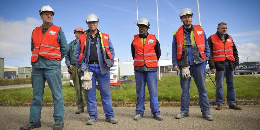 FNV: Geslaagde staking aluminiumproducent Damco in Delfzijl om cao Metalektro