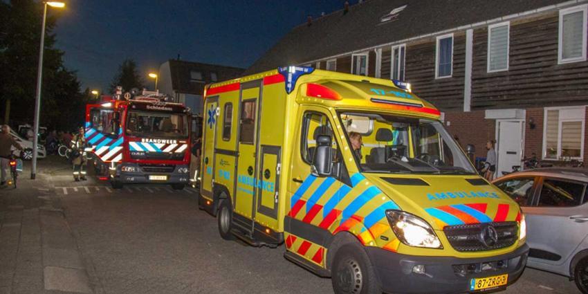 Brandweer verricht CO meting na onwelwording
