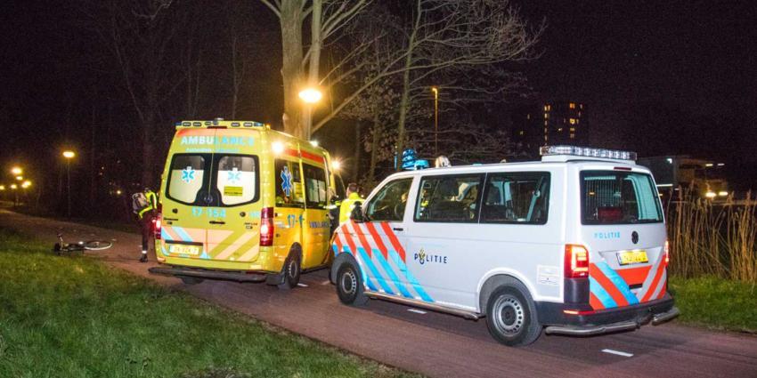 Man in been gestoken in Schiedam