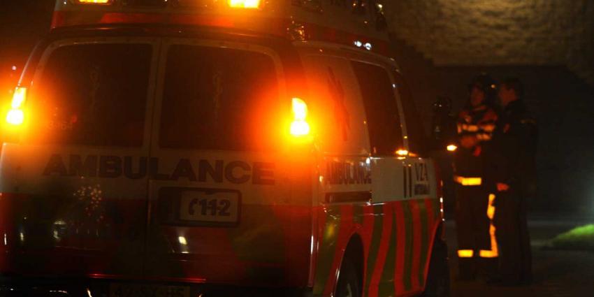 Bewoner (77) zorgcentrum gewond na brand door vuurwerk op balkon