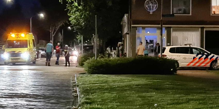 ambu-politie-donker